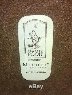 Vintage Disney Winnie The Pooh, Piglet & Eeyore Lamp With Bonus Art Print