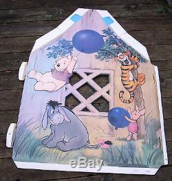 Vintage Disney Winnie The Pooh Video Store Display Standee Mr. Sanderz House