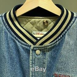 Vintage Tigger Winnie The Pooh Disney Denim Varsity Jacket XXXtentacion Men's S