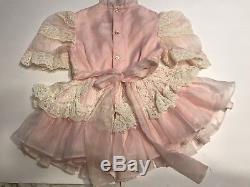 Vintage Winnie The Pooh Girls Dress