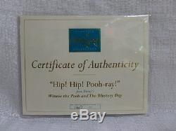 WDCC Walt Disney Classics Hip Hip Pooh Ray Winnie The Pooh And The Blustery Day