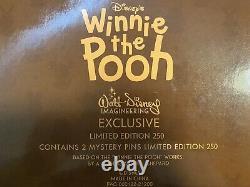 WDI MOG Winnie The Pooh ADORBS Pin Set LE 250 Disney 10 Pins