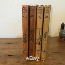 WINNIE THE POOH, 4 Book Set, A A Milne, Methuen, TRUE FIRST EDITIONS