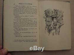 WINNIE THE POOH A. A. MILNE original wrapper METHUEN & Co. 3rd edn 1927