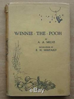 WINNIE-THE-POOH Milne, A. A. Illus. By Shepard, E. H