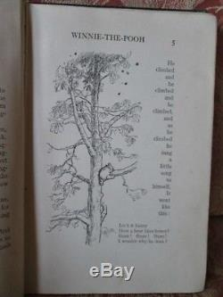 WINNIE the POOH, 1926, A. A. Milne, 1stEd, Illust