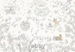 Wallpaper for baby bedroom Winnie The Pooh Disney wall mural giant size Brown