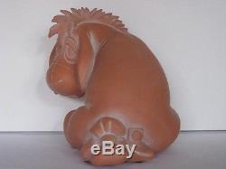 Walt Disney Eeyore from Winnie the Pooh Huge Stone Resin Statuette