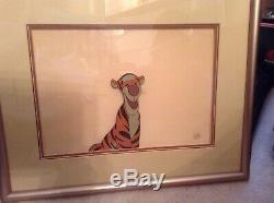 Walt Disney's TIGGER Winnie the Pooh Animation Art Cel Pre-owned
