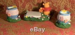 Walt Disneys Three Piece Winnie The Pooh Desk Set