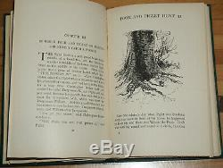 Winnie The Pooh 1st/1st Edition W. Original First State Jacket A. A. Milne
