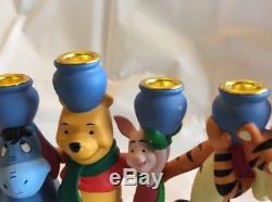 Winnie The Pooh And Friends Menorah Hanukkah Disney