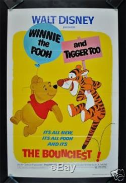 Winnie The Pooh And Tigger Too 1sh Movie Poster Disney