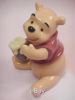 Winnie The Pooh Bear Disney Figurine 2018 By Lladro Porcelain 9115