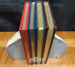 Winnie The Pooh Collection By A. A. Milne Easton Press Leather 4 Volume Set