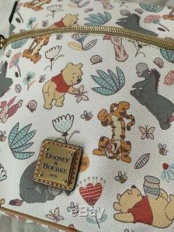 Winnie The Pooh Dooney And Burke Purse Handbag BNWT