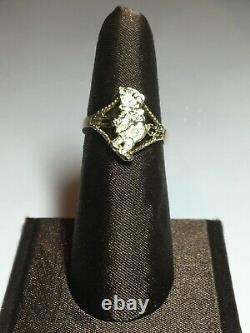 Winnie The Pooh Ring 10k Gold