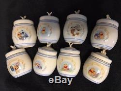 Winnie The Pooh Spice Jars (the Pooh pantry Spice jar set Lenox 2000)