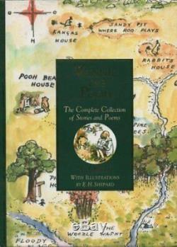 Winnie The Pooh The Complete Collection of Stories &. By A A Milne Paperback