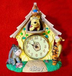 Winnie The Pooh Watch Disney Collectors Club Set Hunny Pot Fossil Ltd Edition