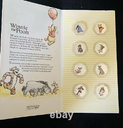 Winnie the Pooh 50p Shaped Coins Limited Edition Collection 8 Coin Bundle