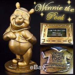 Winnie the Pooh 80th Anniversary Oversized Bronze Statue Figure Ornament New