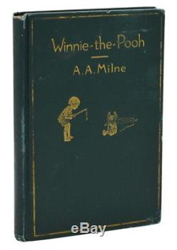 Winnie the Pooh A. A. MILNE First American Edition 1st Printing 1926 AA
