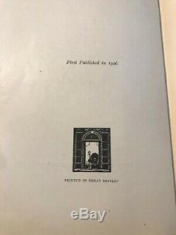 Winnie the Pooh A. A. MILNE First British Edition 1st Printing 1926 in DJ