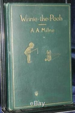 Winnie the Pooh A. A. Milne Dutton 1st Edition 1926 RARE