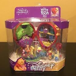 Winnie the Pooh Balloon Playset Disney Magical Miniatures Polly Pocket NEW NIB