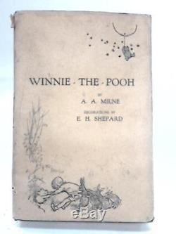 Winnie the Pooh Book (A A Milne 1927) (ID93628)