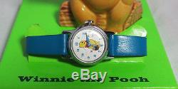 Winnie the Pooh Character Watch in Original Box with Statue c. 1971 Sears Exclusive