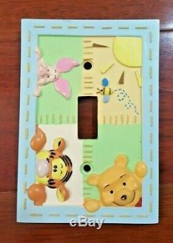 Winnie the Pooh Crib Set Bedding 7 Piece Tigger Piglet Hunny Pots Classic