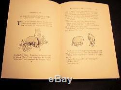 Winnie-the-Pooh EP Dutton 1926 First Edition RARE