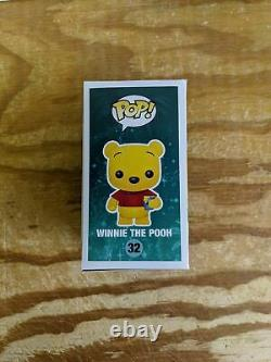 Winnie the Pooh (Flocked) Vinyl Art Toys Brand Funko Series Pop! Disney, Pop