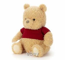 Winnie the Pooh Plush Doll M Christopher Robin Disney Takara Tomy 4904790213304