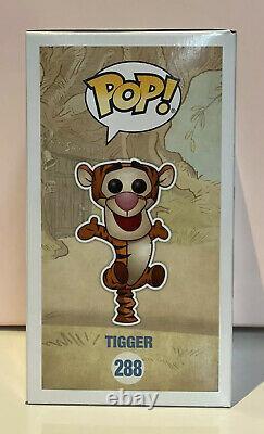 Winnie the Pooh Tigger Flocked SDCC 2017 Exclusive #288 Funko Pop Vinyl #RARE