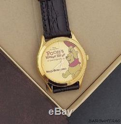 Winnie the Pooh Watch Hunny Hunt Tokyo Disneyland Disney in Original Box
