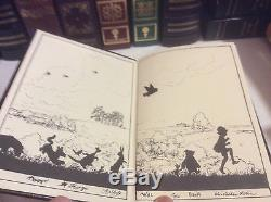 Winnie the Pooh by A. A. Milne 4 Volume Collector's Set Easton Press leather