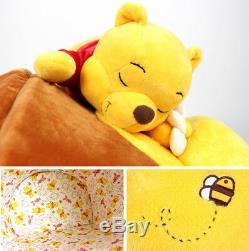 Winnie the Pooh honey pot Disney Pet dog cat house bed cushion sofa
