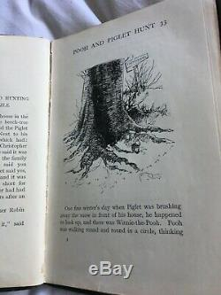 Winnie the pooh 1st edition/1st printing. Very good condition