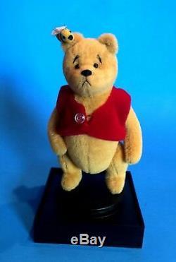 Winnie-the-pooh Miniature Bear By Little Gem Teddy Bears-1999 Disney Convention