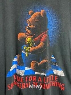 XL Disney Winnie The Pooh Horror Scary Smackeral of Something Promo Shirt VTG