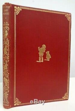 1926 Première Édition A. A. Milne Winnie L'ourson Illustrated Shepard 1st Impression