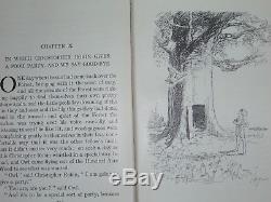 1926 Winnie L'ourson 1er. Edition 1ère. Impression -a. A. Milne - Rare - Belle Condition