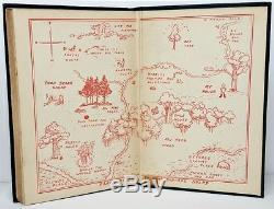 1926 Winnie Le Pooh Vtg Première Édition 2e Us Imprimer Enfant A Milne Disney Ours Rare