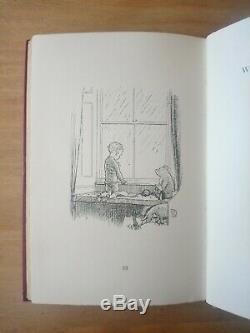 1927 1ère / 1ère Édition De Now Nous Sommes Six Par A A Milne. Winnie The Pooh Premier 1/1