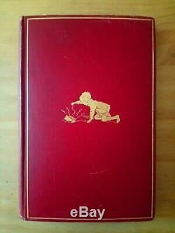 1927 1ère Édition De Maintenant, Nous Six Par A A Milne. Winnie L'ourson. Première Impression