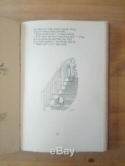 1927 Première Édition De Now, Nous Sommes Six De A A Milne. Winnie L'ourson. 1er / 1er
