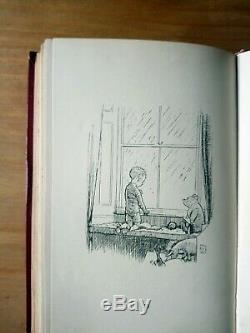 1927 Première Édition De Now Nous Sommes Six De A A Milne. Winnie L'ourson. 1er 2ème